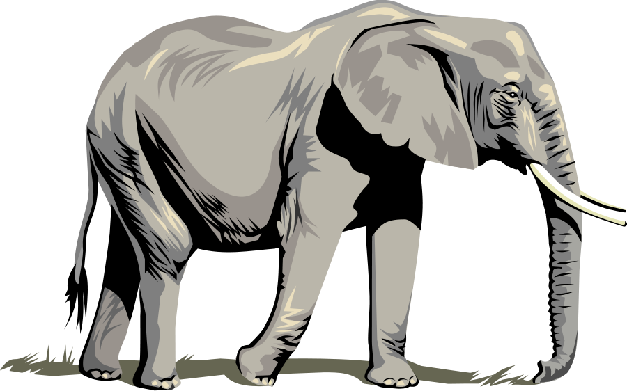 900x562 Elephant And Castle Clip Art Vector Free Download