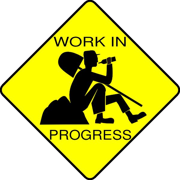600x600 Work In Progress Clip Art