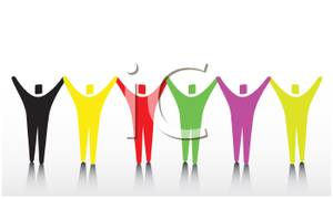 300x180 Free Clipart Of People Working Together 101 Clip Art