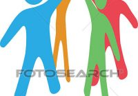 200x140 Working Together Clipart Clip Art Of Business People Team Up Work