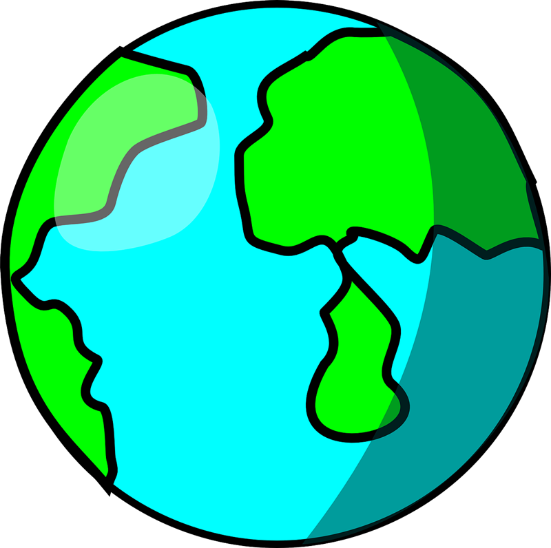 800x796 World Top Globe Clip Art Free Clipart Image 2