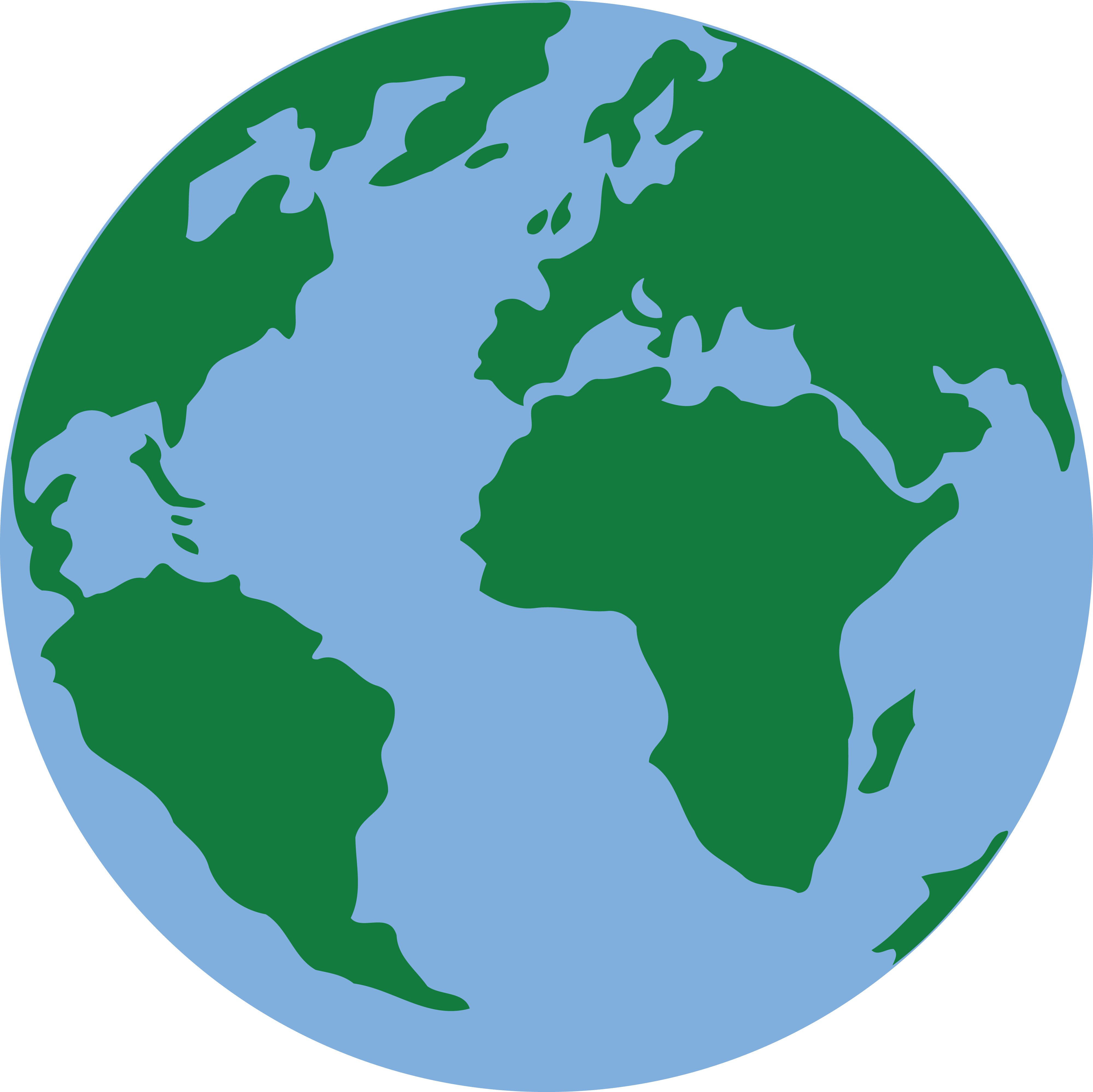 4000x3995 Free Earth Clipart 971 Free Clipart Of A Blue And Green Earth