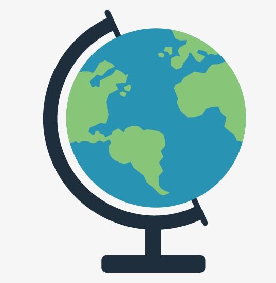 537x552 Globe, Cartoon Globe, Map Png And Vector For Free Download