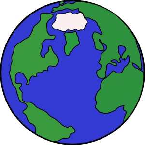 World Globe Clipart