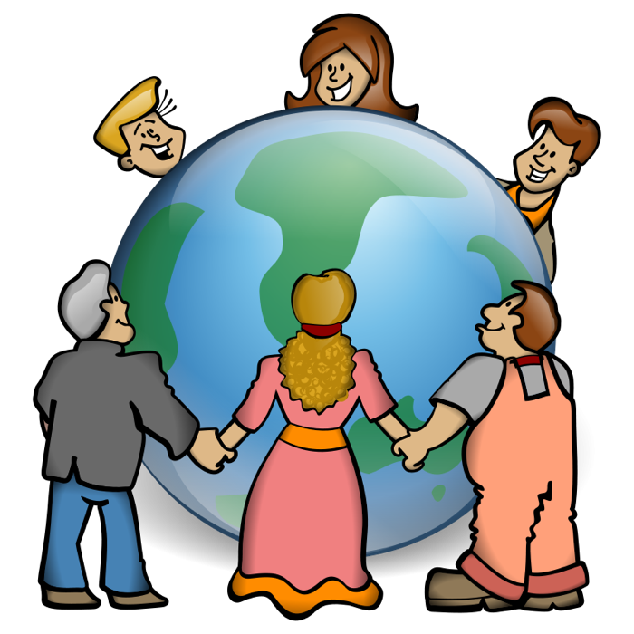 700x700 Free Earth And Globe Clipart