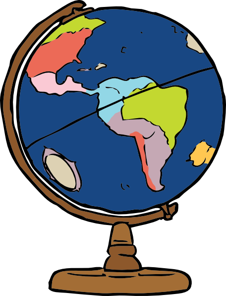 456x596 Globe Clipart Images