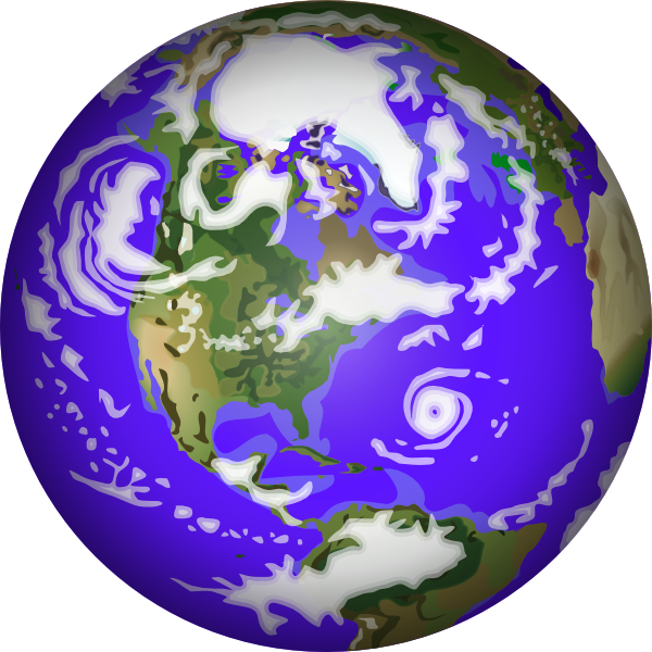 600x600 Planet Earth Clipart