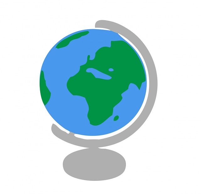 640x617 World Globe Clipart