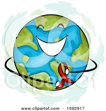 450x470 Clipart Of Grayscale Pair Of Hands Holding Up Globe