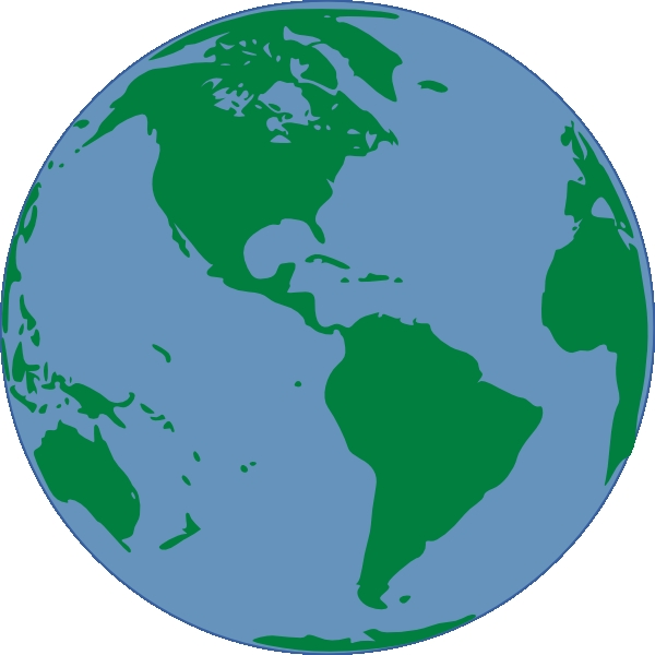 600x600 World Map Clipart Large World Map Usa Map