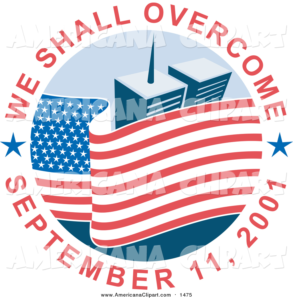 1024x1044 Americana Vector Clip Art Of A We Shall Overcome September 11