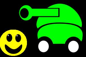 300x198 Cartoon Tank Clip Art