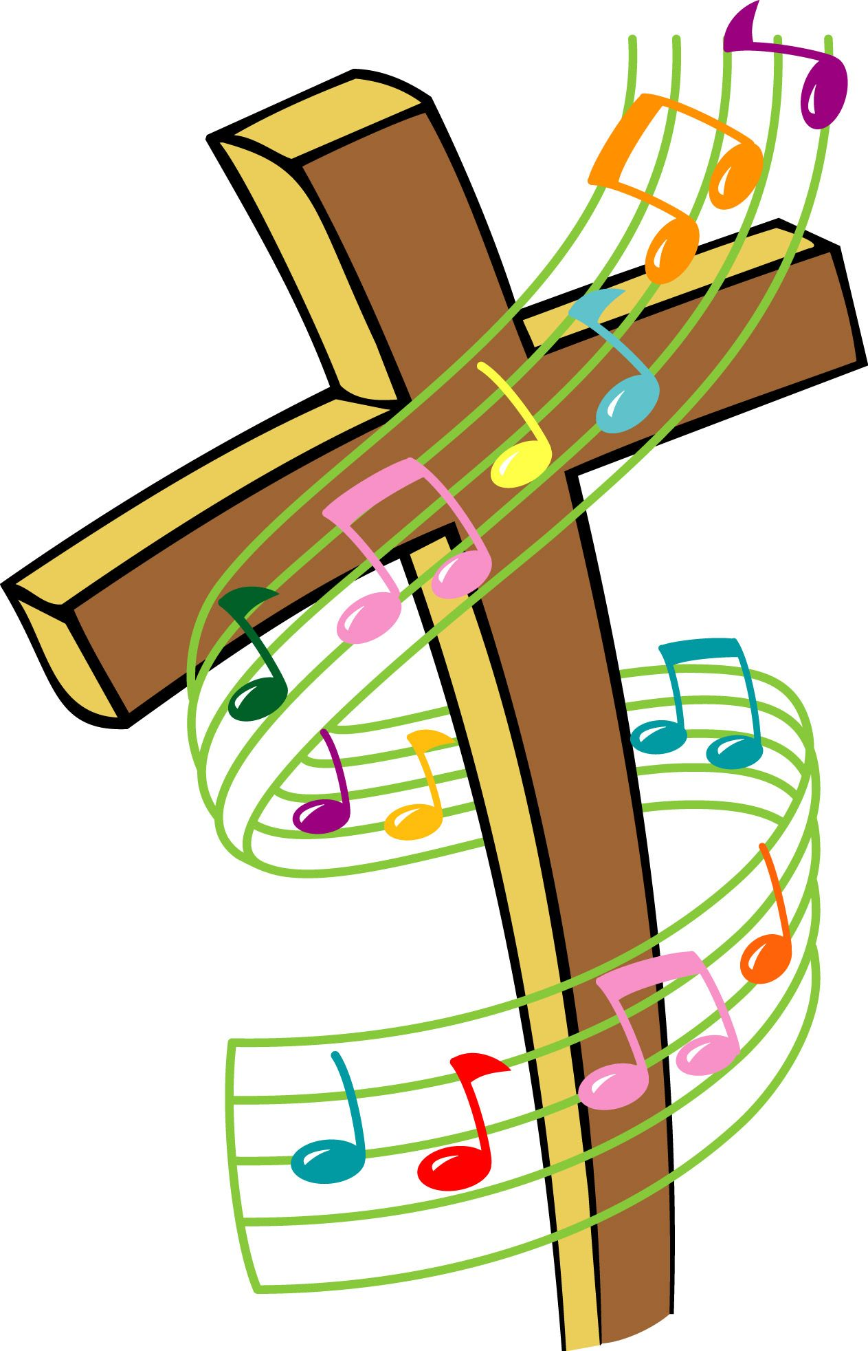 1263x1964 Music Clip Art Stay Tuned For Choir Practices To Begin Again