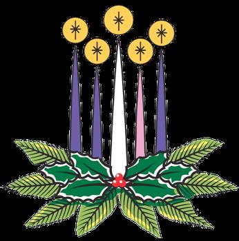 346x350 Christmas Eve Worship Clipart