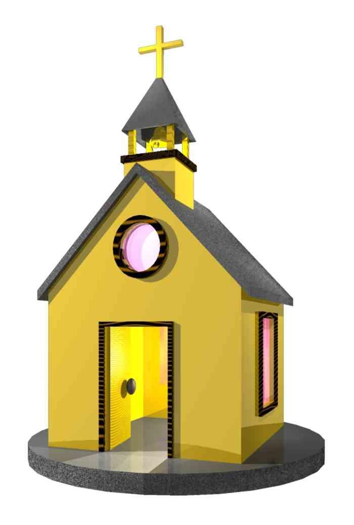 700x1037 Church Clipart Online
