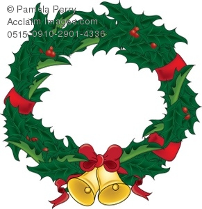 291x300 Clipart Of Christmas Wreath Cliparts Free Download Clip Art