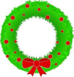 290x300 Free Free Wreath Clip Art Image 0515 1012 0205 4419 Christmas