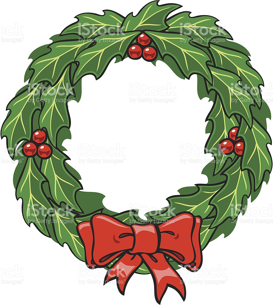 916x1024 Good Looking Christmas Wreath Cartoon 16 Elegant Of Clip Art Free