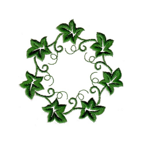 500x500 Ivy Clipart Ivy Wreath