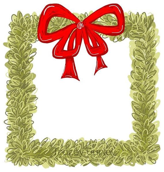 570x599 Square Wreath Clipart