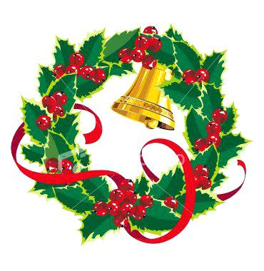 370x380 Christmas Wreath Clipart Holiday Wreath Pictures Clip Art