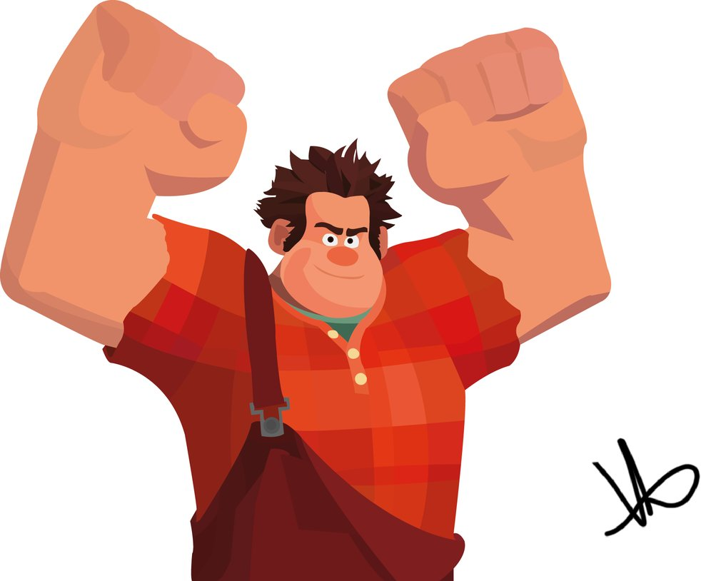 982x814 Wreck It Ralph By M4chopichubr