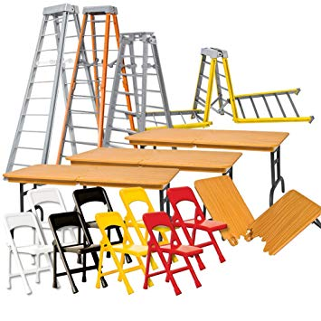 355x355 Complete Set Of All 4 Ultimate Ladder, Table