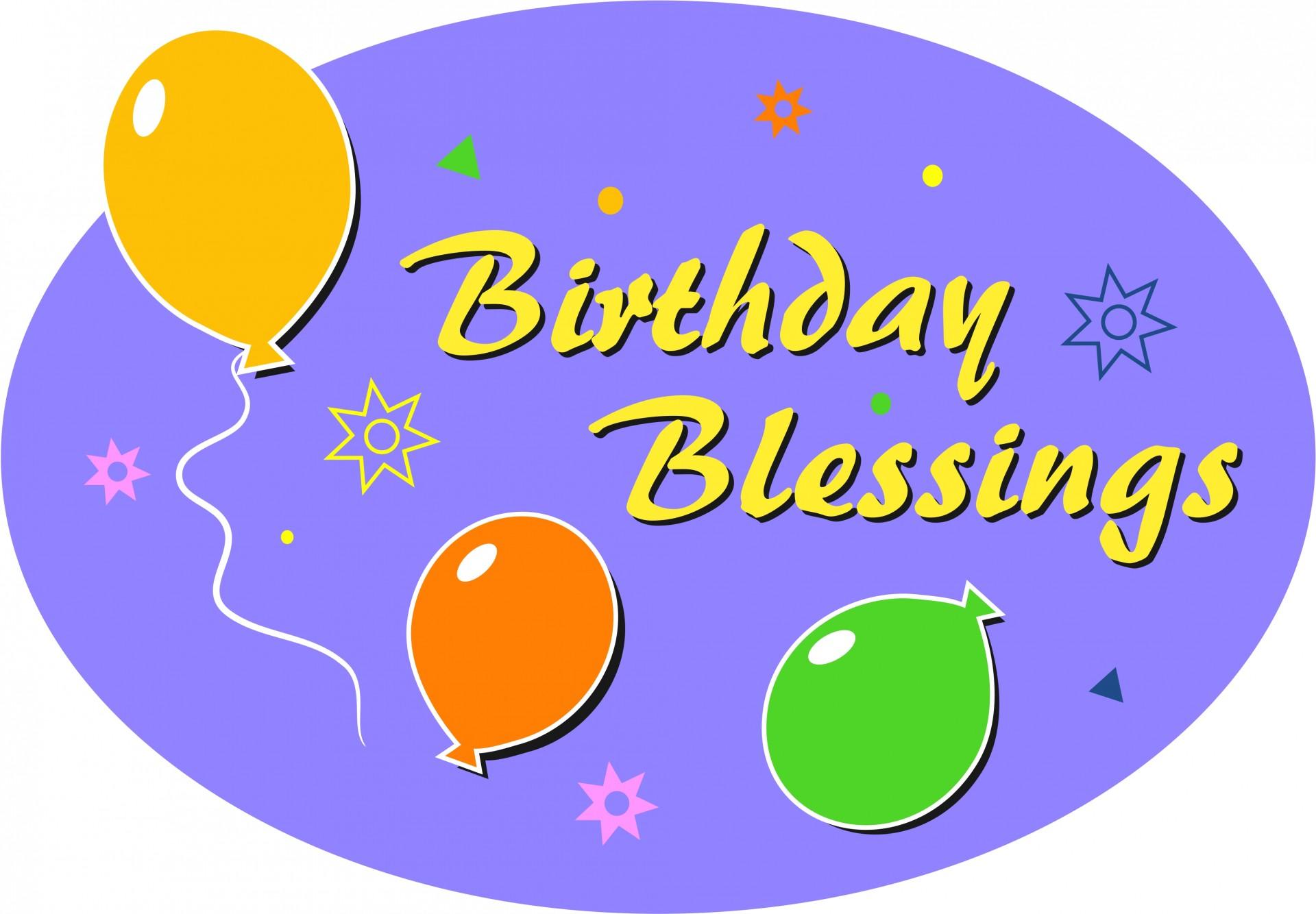 1920x1334 Birthday Blessings Clip Art Free Stock Photo