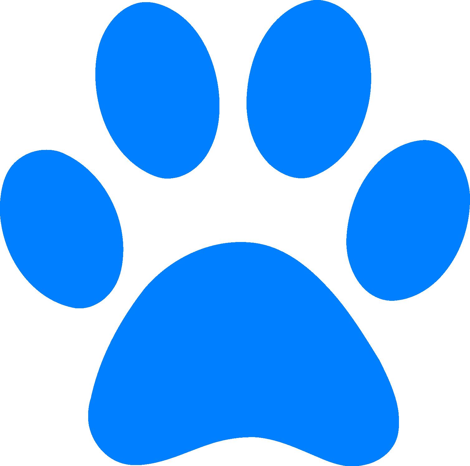 1508x1498 Blue's Clues Clip Art And Blue Footprint Clipart Png