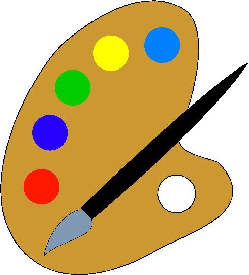 490x542 Clip Art Activities Painting