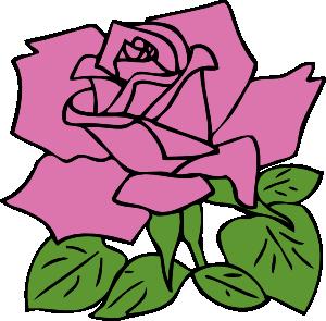 300x295 Rose Clip Art