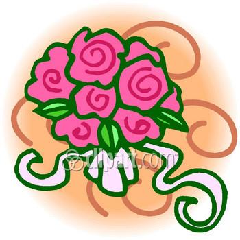 350x350 Pink Rose Clip Art Clipart Panda