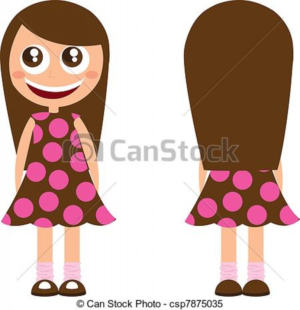 993x1024 Long Brown Hair Clipart Long Brown Hair Clipart Clip Art Girl