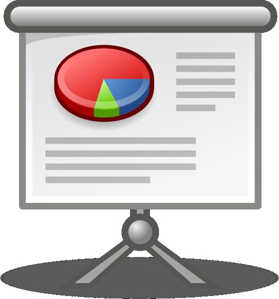 558x598 Presentation Clipart X Office Presentation Clip Art