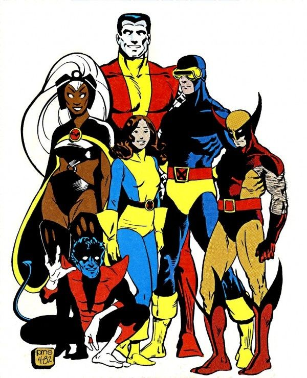 600x740 X Men By Paul Smith Paul Smith Paul Smith, Comic