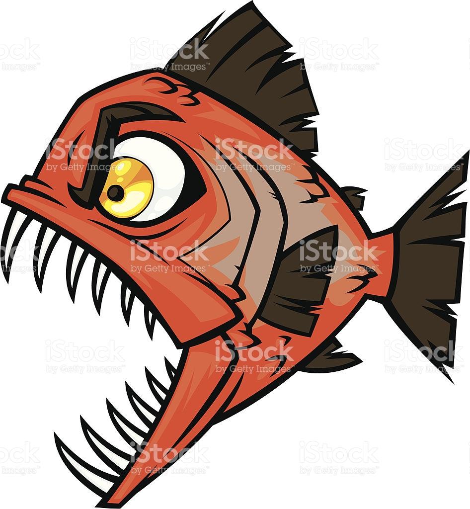 946x1024 Piranha Clipart