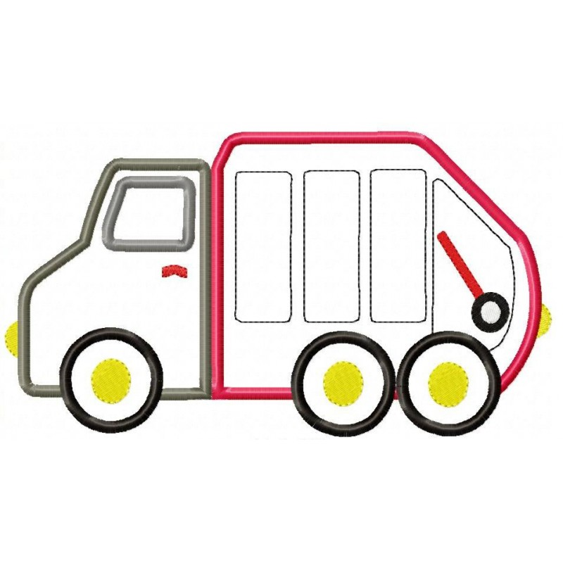 800x800 Garbage Truck Picture