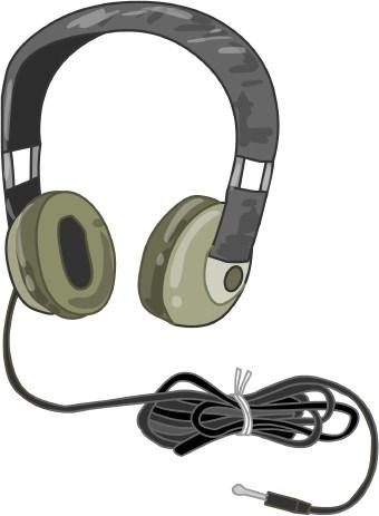 340x463 Headphone Clip Art Clipart Panda