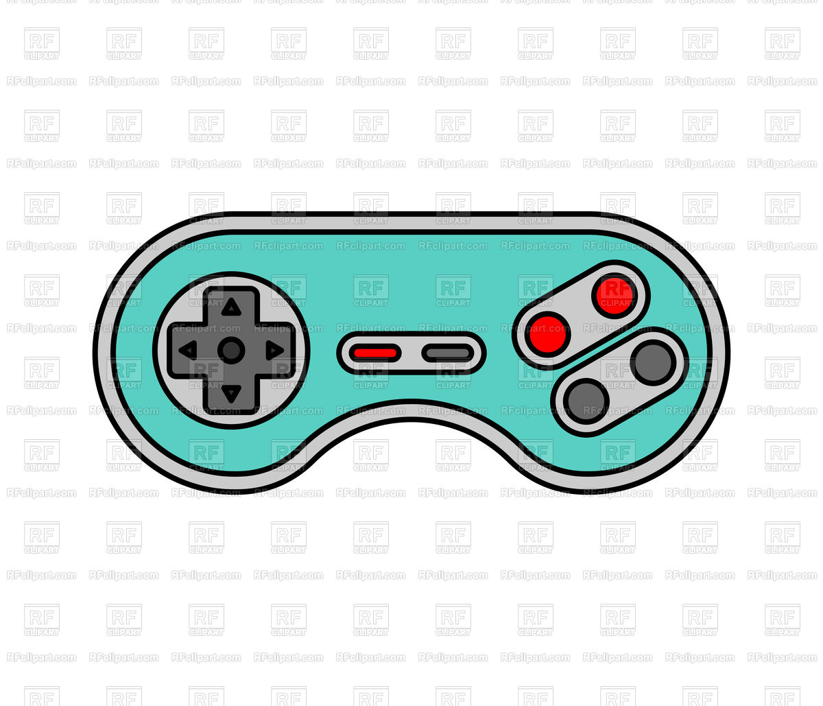 1200x1029 Joystick Icon Isolated Royalty Free Vector Clip Art Image