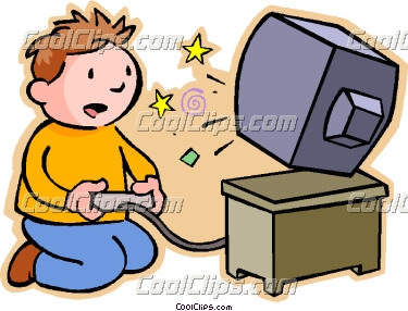375x286 Playing Games Clipart