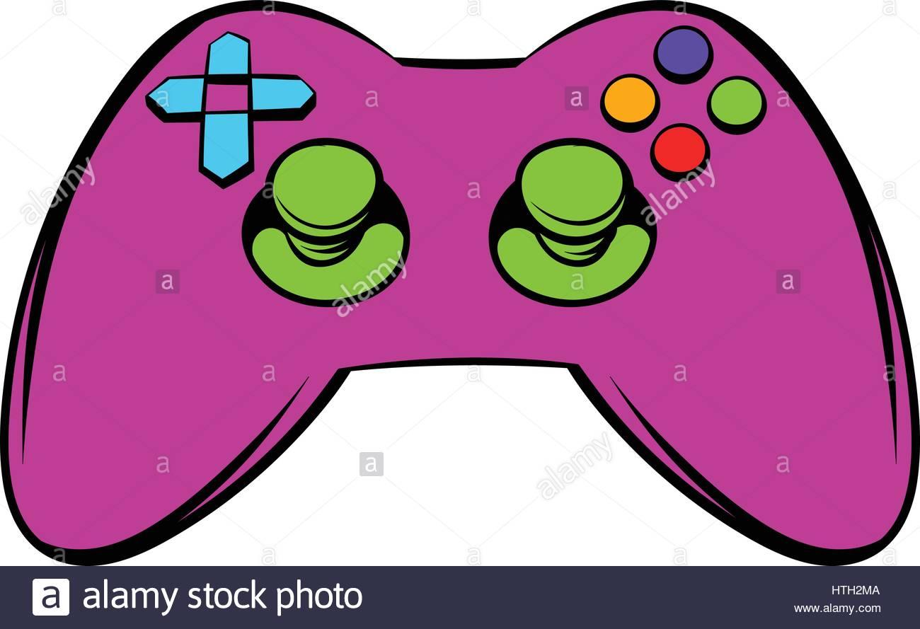 1300x889 Video Game Controller Icon, Icon Cartoon Stock Vector Art