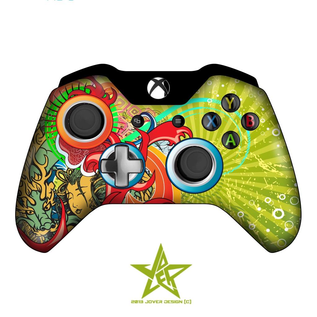 1024x1024 Xboxe Controller By Jover Design