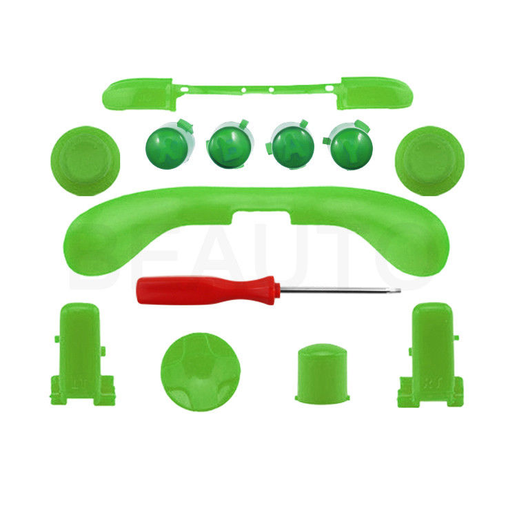 750x750 Green Lb Rb Abxy Triggers Replacement Buttons Parts For Xbox 360