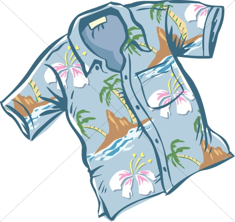 776x735 Hawaiian Shirt Clipart Nice Blue Hawaiian Shirt Lay Holiday