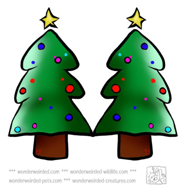 612x646 18awesome Christmas Tree Clip Art Free
