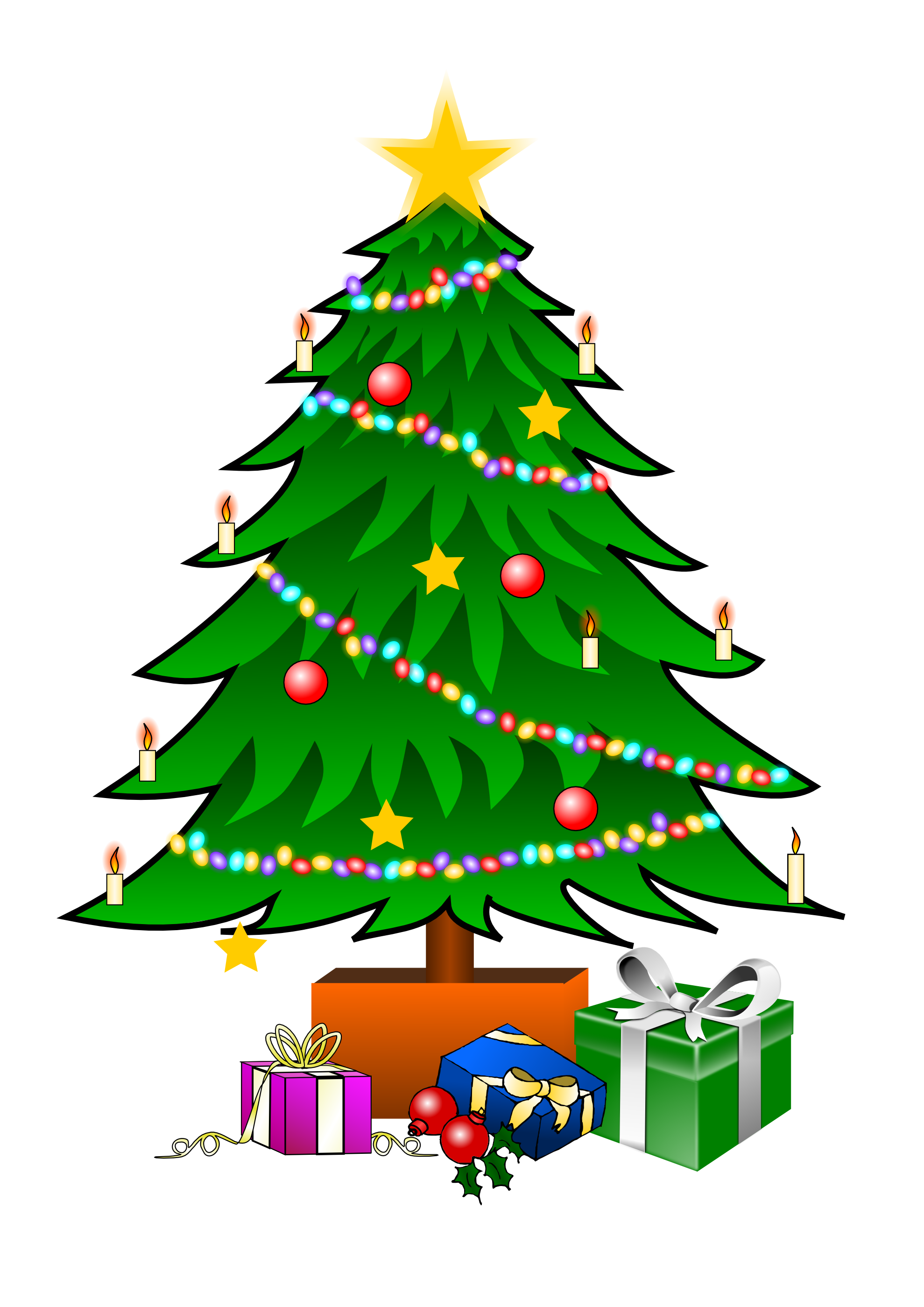 1979x2799 Christmas Tree Clip Art Is A Fun Way To Add One Of The Most