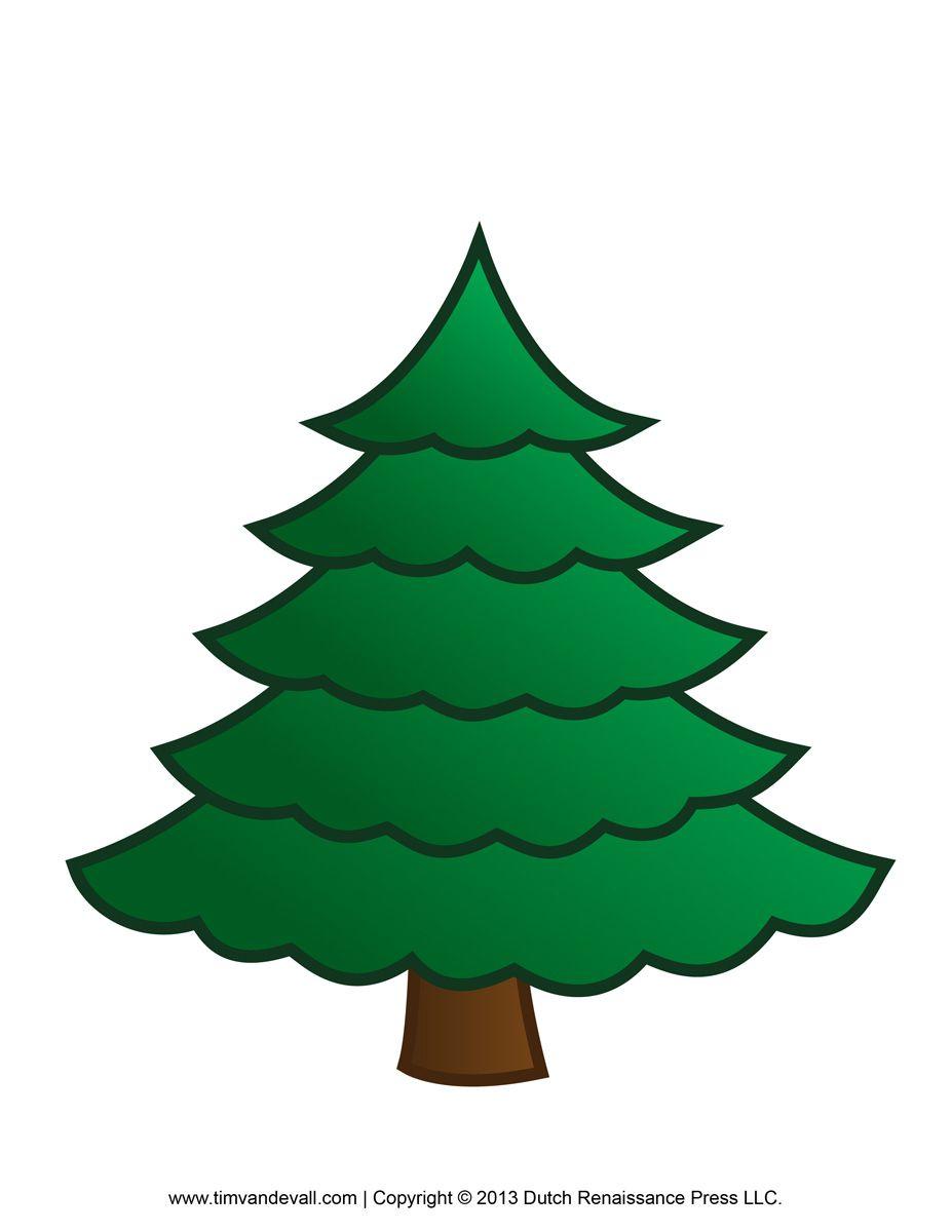 927x1200 Christmas Tree Clipart Printable Paper Christmas Tree Template