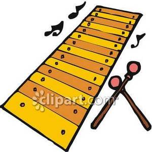 300x300 Music Notes And A Xylophone