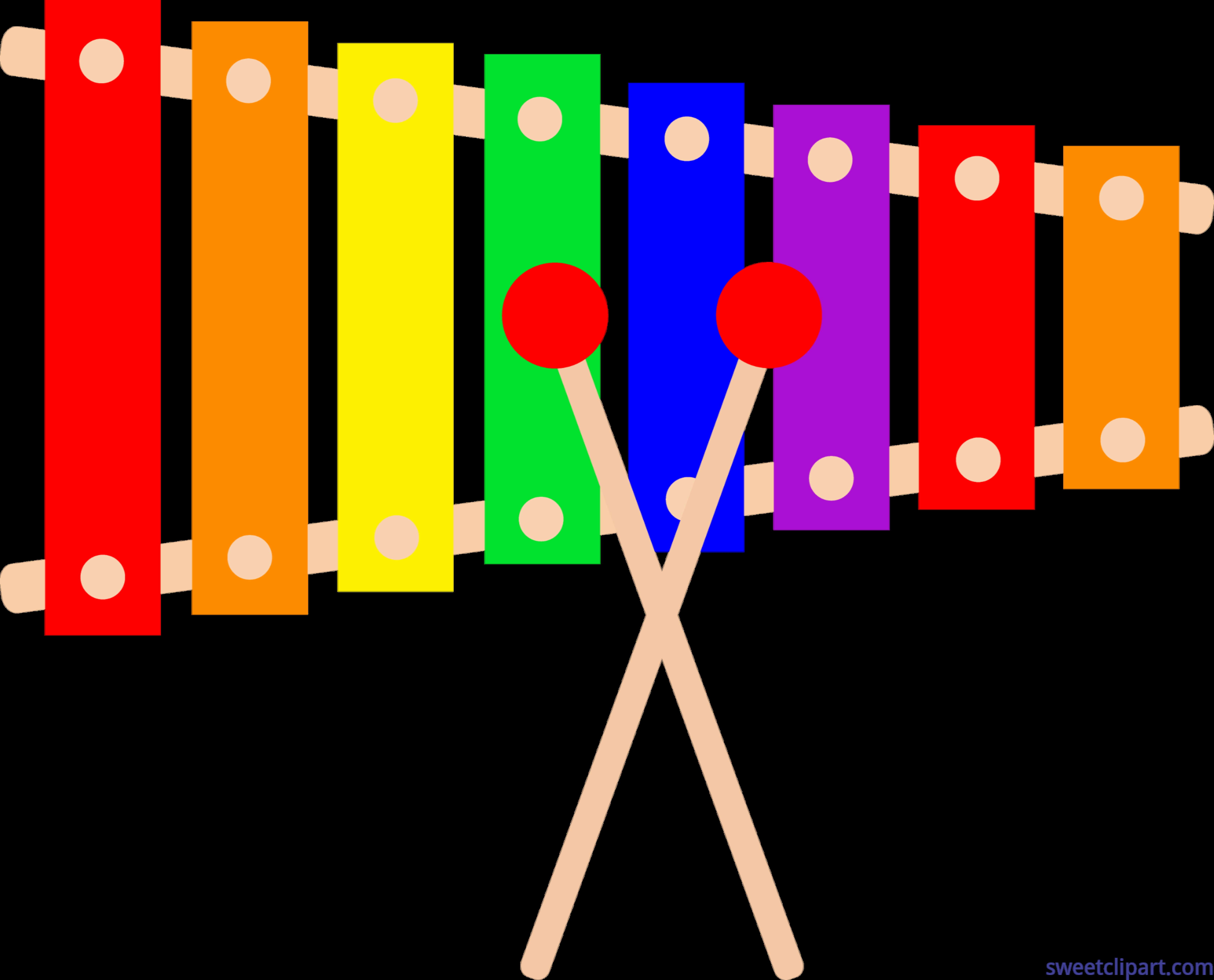 6729x5433 New Xylophone Clipart Design