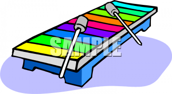 350x192 Royalty Free Xylophone Clip Art, Entertainment Clipart